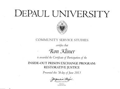 Certificates And Diplomas Free Ronald Kliner